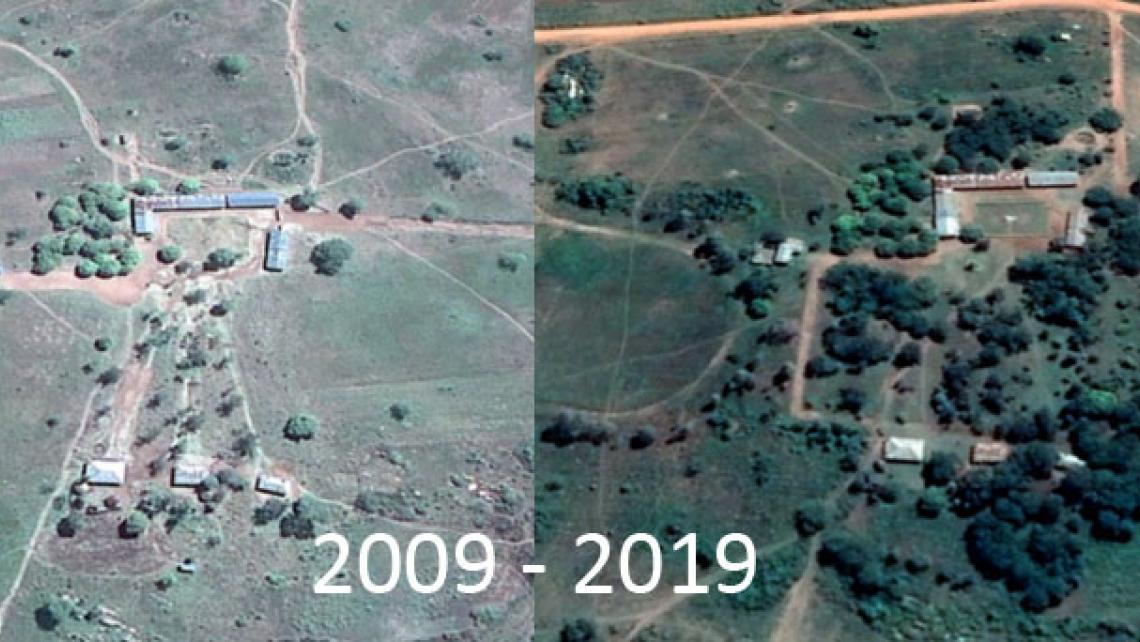 Tanzania before After
