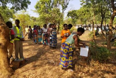 Obtaining consent for the Katanino Project from the communities through voting in Kebamba area of Katanino
